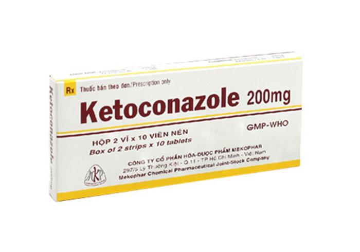 Công dụng và các tác dụng phụ thuốc Ketoconazole