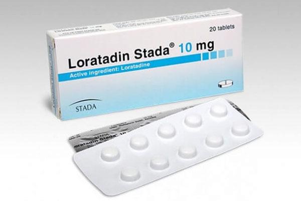 Thuốc Loratadin có tác dụng chống dị ứng