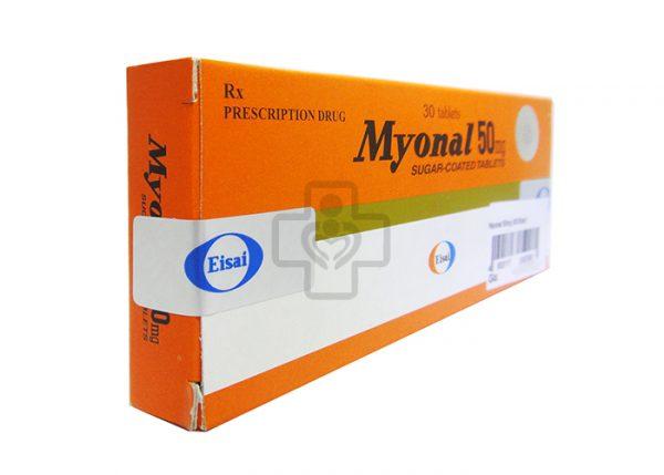 Thuốc tân dược Myonal
