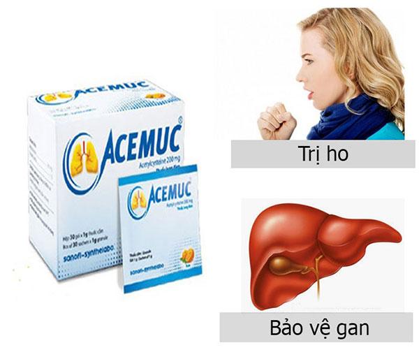 Nên sử dụng thuốc Acemuc 200mg theo chỉ dẫn của bác sĩ