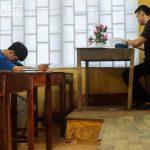 1 mình 1 phòng thí sinh Hà Giang cân bài thi Khoa học Tự nhiên