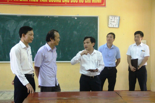 Yeu Cau Vo Hieu Hoa Camera Noi Bo Truoc Khi Dien Ra Ky Thi Thpt Quoc Gia