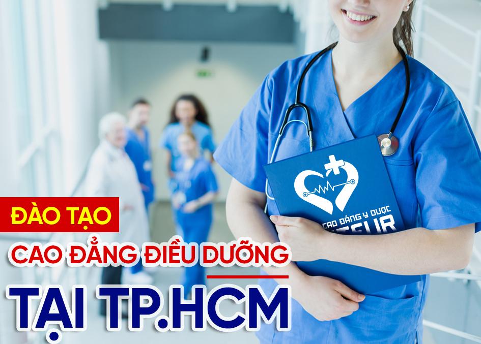 Cao đẳng Điều dưỡng TPHCM đào tạo Điều dưỡng viên chuyên nghiệp