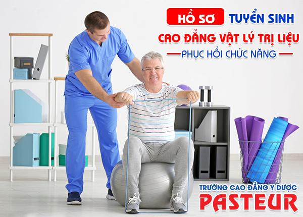 Nộp hồ sơ Kỹ thuật Vật lý trị liệu tại Trường Cao đẳng Y Dược Pasteur