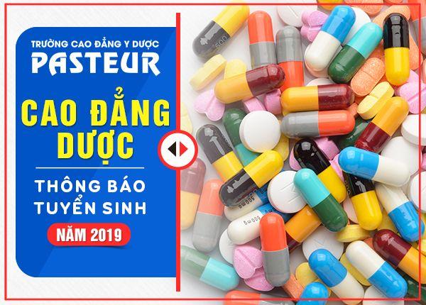 Thông tin tuyển sinh Cao đẳng Dược Sài Gòn năm 2019