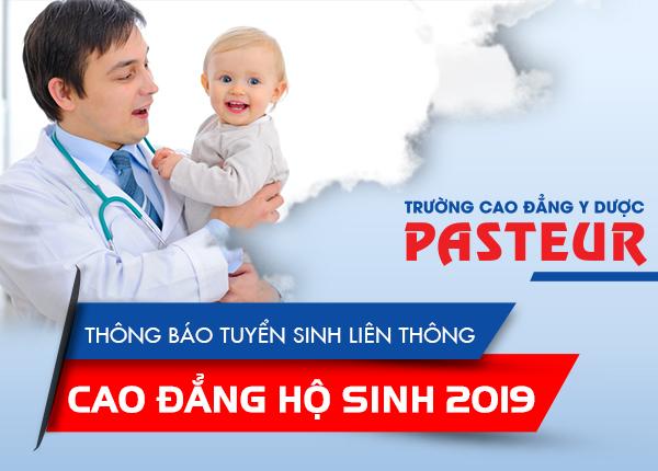 Tuyển sinh Liên thông Cao đẳng Hộ sinh TPHCM năm 2019