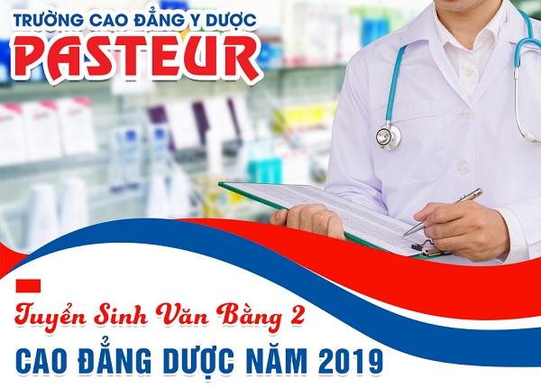 Trường Cao đẳng Y Dược Pasteur  tuyển sinh Văn bằng 2 Cao đẳng Dược TP HCM