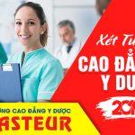 Trường Cao đẳng Y Dược Pasteur xét tuyển đợt 2 năm 2019