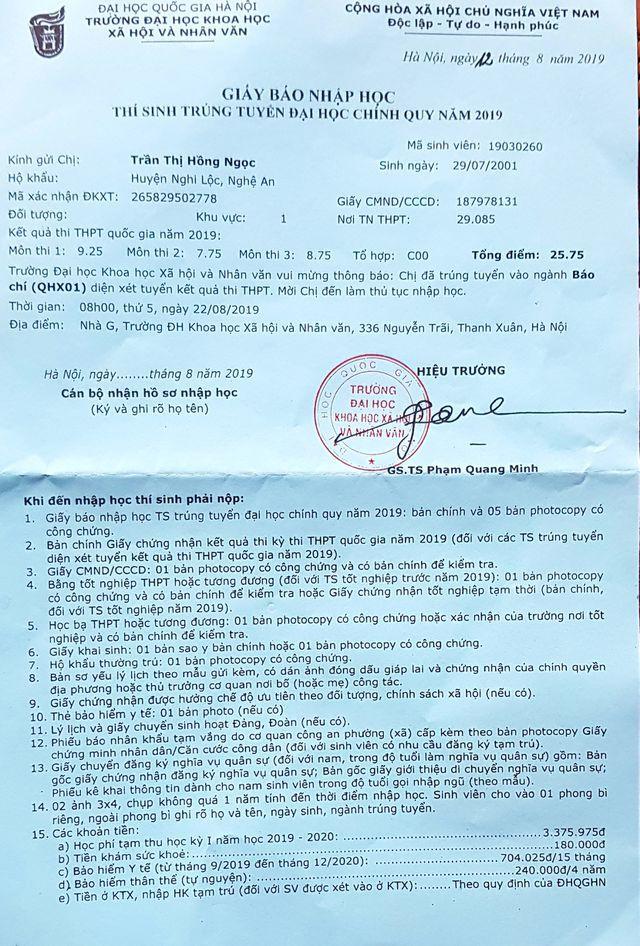 Dai Hoc Khxhnv Mien Hoc Phi Toan Bo Cho Nu Sinh Ngheo Xu Nghe (2)