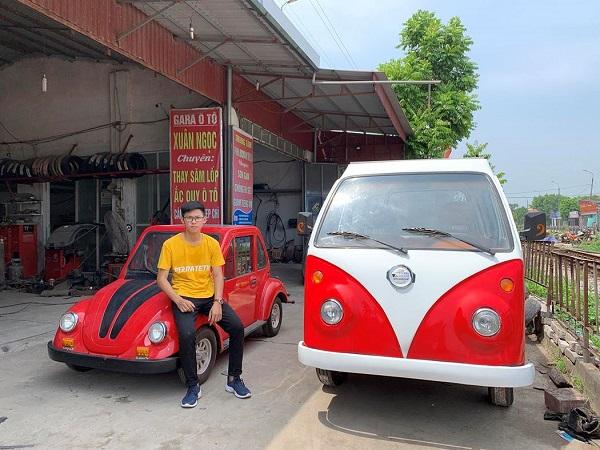 Nam Sinh Lop 12 Che Tao Thanh Cong O To Chay Bang Nang Luong Mat Troi (2)