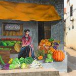 7 sinh viên biến làng trồng rau thành bích họa vạn người mê