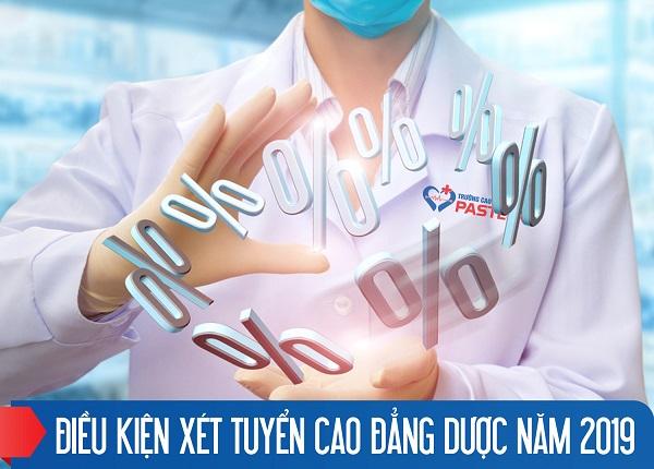 Dieu Kien Xet Tuyen Cao Dang Duoc Nam 2019