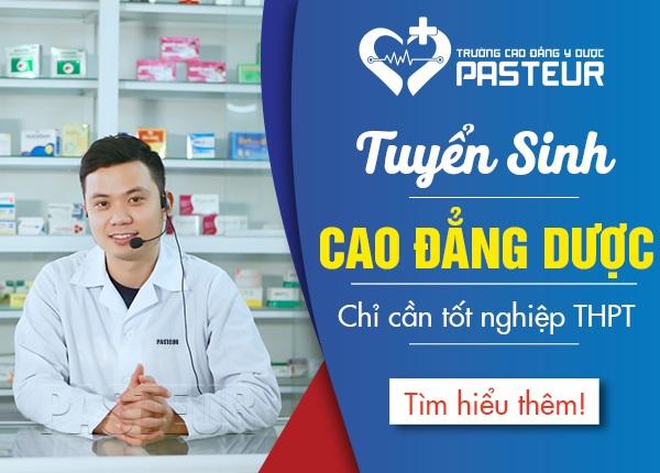 Tuyen Sinh Cao Dang Duoc Pasteur 17 5 19