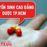 Những điểm cần chú ý trong chương trình tuyển sinh Cao đẳng Dược Sài Gòn năm 2020
