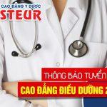 Trúng tuyển Cao đẳng Điều dưỡng HCM nhờ điều kiện đơn giản