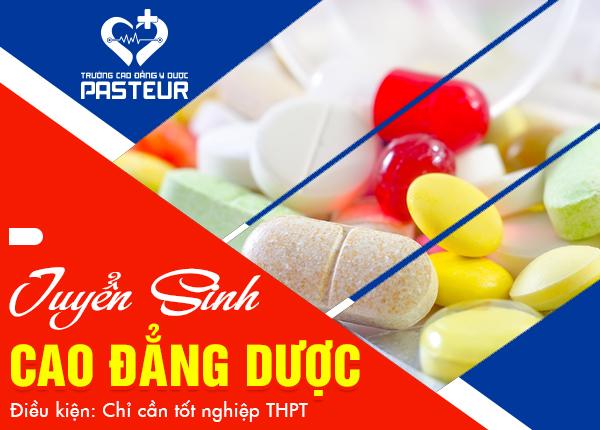 Trường Cao đẳng Y Dược Pasteur đào tạo Cao đẳng Dược chất lượng cao