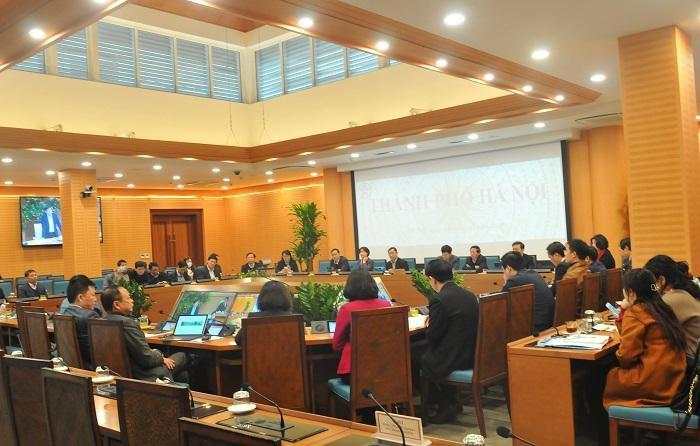 Các đại biểu tại điểm cầu Hà Nội