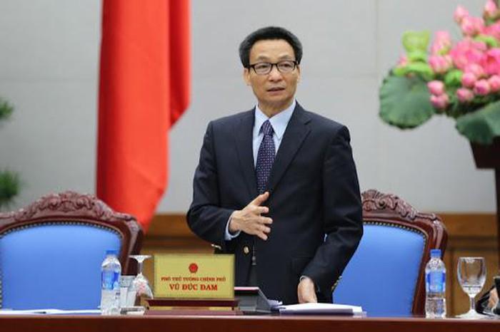 Phó Thủ tướng Vũ Đức Đam, Trưởng Ban Chỉ đạo Quốc gia về phòng, chống dịch bệnh viêm đường hô hấp cấp do chủng mới của virus Corona (nCoV)