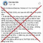 5 tác phẩm Ngữ văn không ra trong đề thi THPT quốc gia 2020 là Fake new