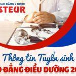 Chương trình học chuyên ngành Điều dưỡng – Trường Cao đẳng Y dược Pasteur có gì đặc biệt?