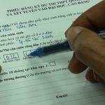 Thời gian làm hồ sơ thi tốt nghiệp THPT 2020