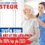 Miễn 100% học phí Cao đẳng Vật lý trị liệu Sài Gòn chính quy năm 2020