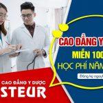 Những ngành học được miễn 100% học phí tại Trường Cao đẳng Y dược Pasteur năm 2020