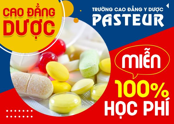 Cao Dang Duoc Mien 100% Hoc Phi Pasteur 4 9