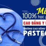 Năm 2020 Trường Cao đẳng Y dược Pasteur miễn 100% học phí cho cơ sở nào?
