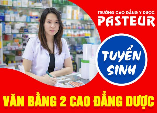 Tuyen Sinh Van Bang 2 Cao Dang Duoc Pasteur 23 10 1