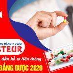 Hướng dẫn làm hồ sơ đăng ký học liên thông Cao đẳng Dược năm 2020