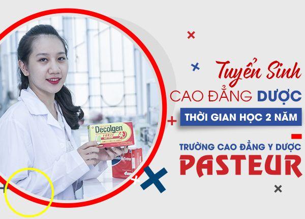 Tuyen Sinh Cao Dang Duoc Pasteur 26 10 600x