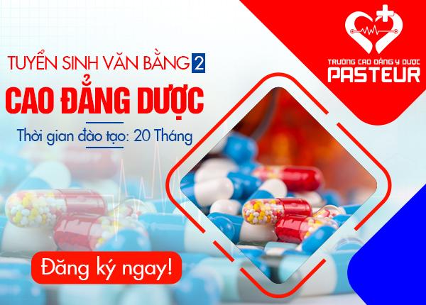 Tuyen Sinh Van Bang 2 Cao Dang Duoc Pasteur 16 12