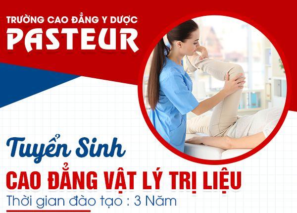 Tuyen Sinh Cao Dang Vat Ly Tri Lieu Pasteur 15 12