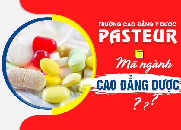 Ma Nganh Cao Dang Duoc