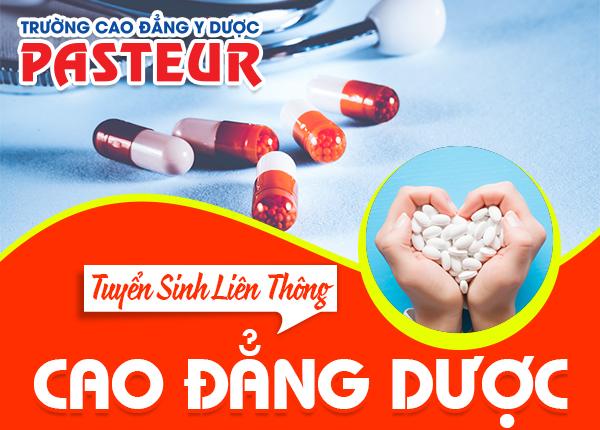 Tuyen Sinh Lien Thong Cao Dang Duoc Pasteur 11 12