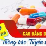 Phạm vi tuyển sinh Cao đẳng Dược TPHCM hệ 2 năm Trường Cao đẳng Y Dược Pasteur