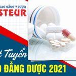 Cơ hội trúng tuyển cao với quy chế tuyển sinh Cao đẳng Dược Pasteur HCM năm 2021