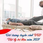 Đối tượng tuyển sinh văn bằng 2 cao đẳng Vật lý trị liệu TPHCM năm 2021